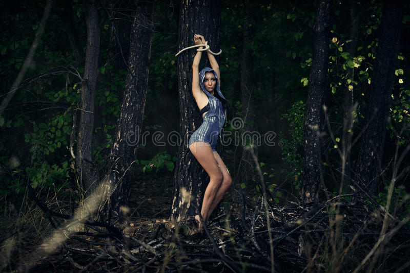 Magnificent Women bound to a tree information