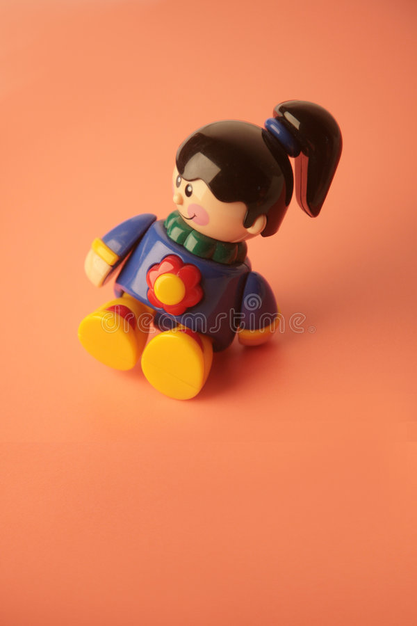 Download Girl toy sitting smiling stock image. Image of colorful - 2561631