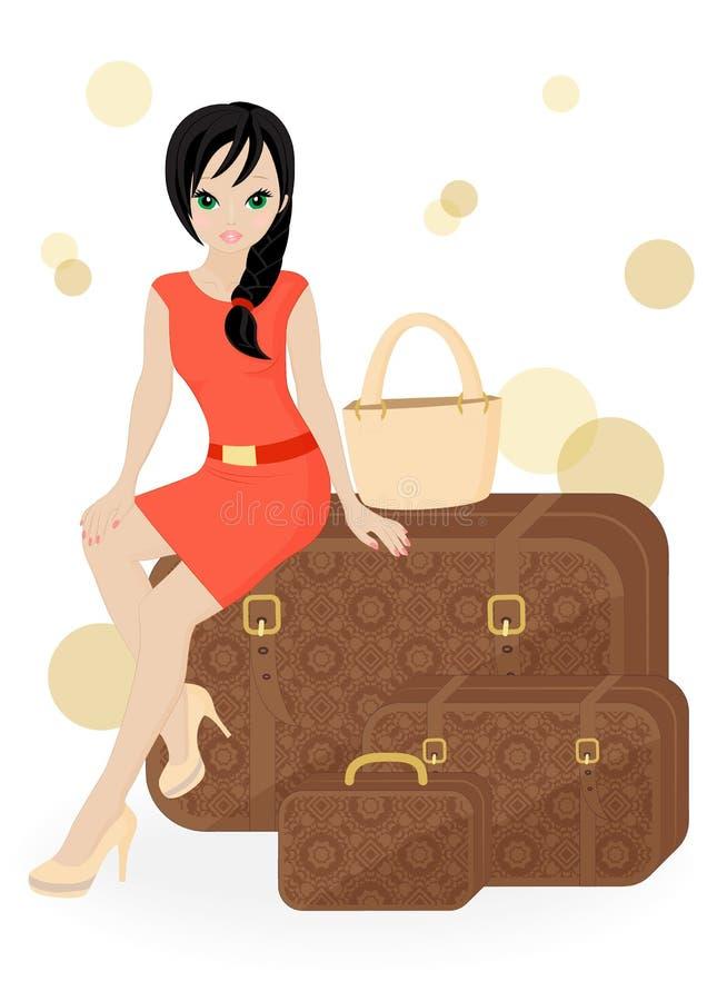 Download Girl Traveler Stock Images - Image: 31239794