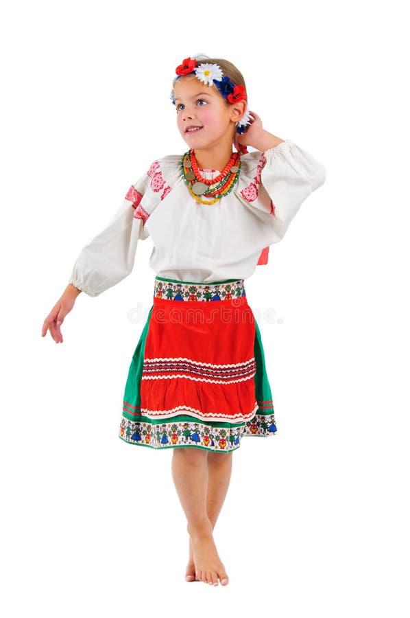 Download Girl In Ukrainian National Costume Stock Photo - Image: 13393432