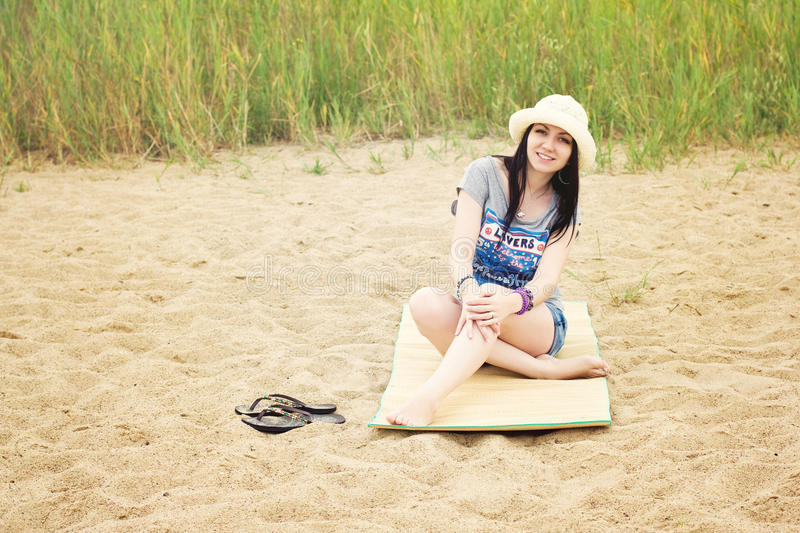 Download Girl on vacation stock photo. Image of laughing, vacation - 26323428