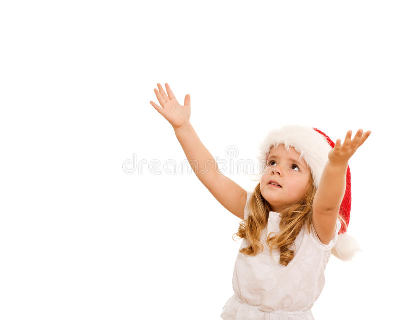 Download Girl Waiting For The Christmas Stock Photo - Image: 11515666
