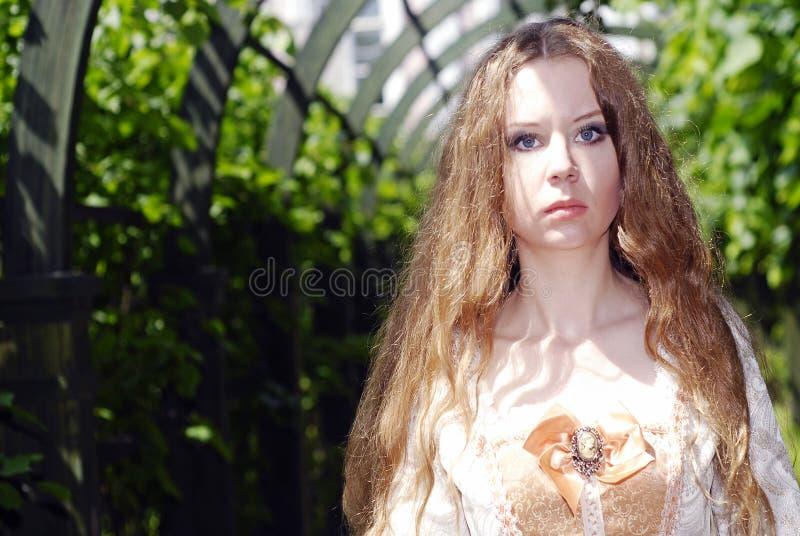 Download Girl Walk In Lane Royalty Free Stock Photos - Image: 14688008