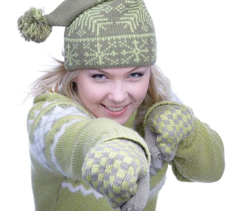 Download Girl In Warm Clothes Royalty Free Stock Photos - Image: 10632218