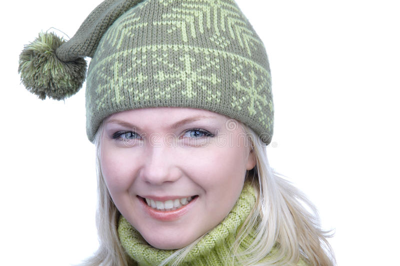 Download Girl in warm clothes stock image. Image of people, person - 14330861
