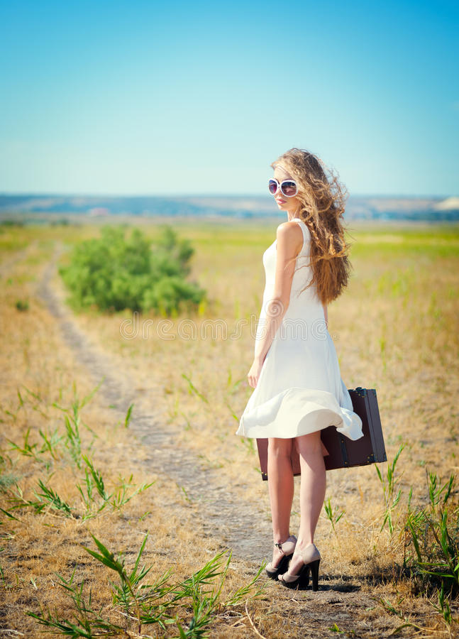 Download Girl On The Way Royalty Free Stock Photo - Image: 26413725