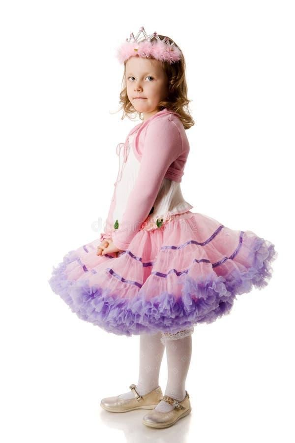 Girl wearing diadem