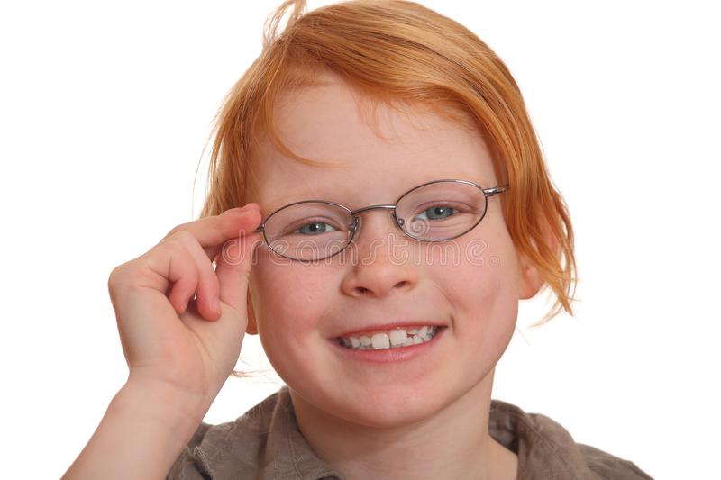 Download Girl wearing glasses stock image. Image of glass, people - 17350143