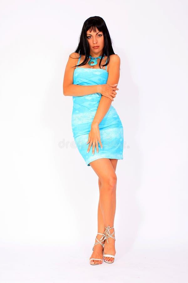 Free Girl Wearing Summer Dress Stock Photo - 14976950