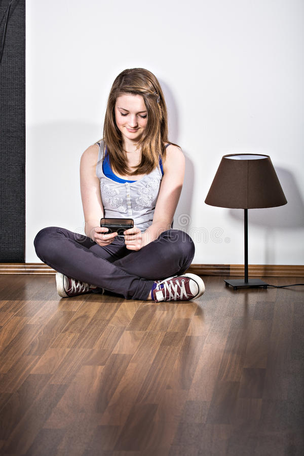 Free Girl With A Cellphone Stock Photography - 24838712