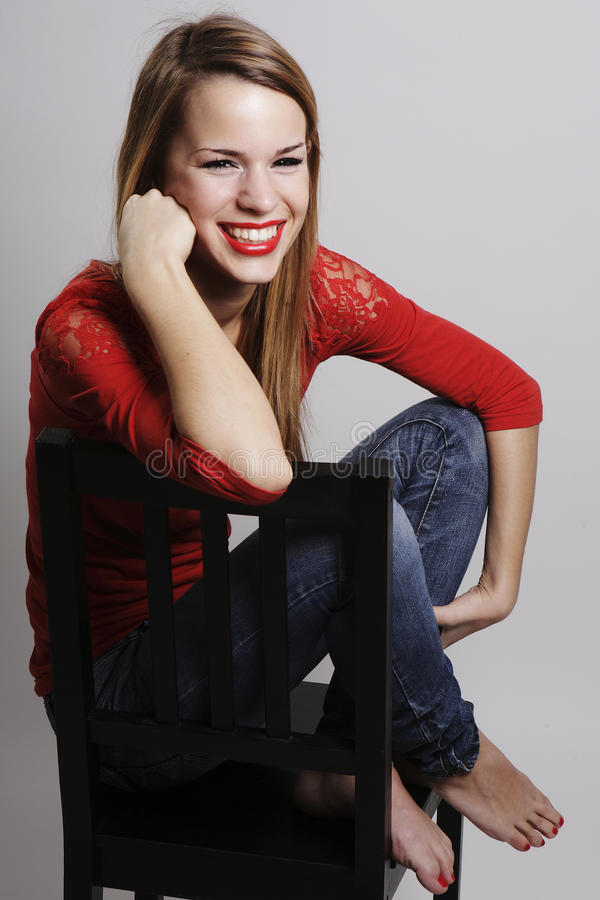 Free Girl With An Attractive Smile Stock Photo - 23147160