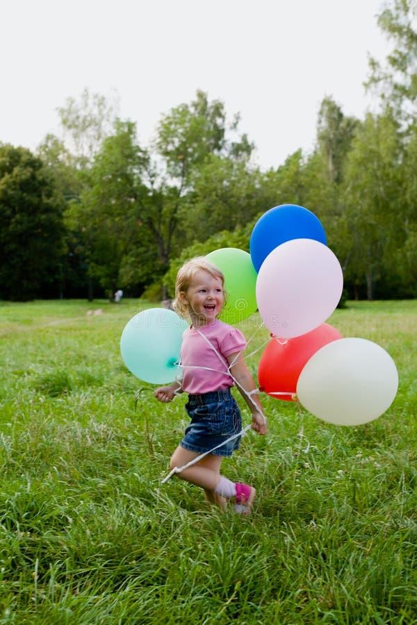 Free Girl With Balloon Stock Photo - 2944750
