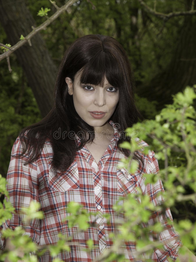 Download Girl In The Woods Stock Images - Image: 28865464