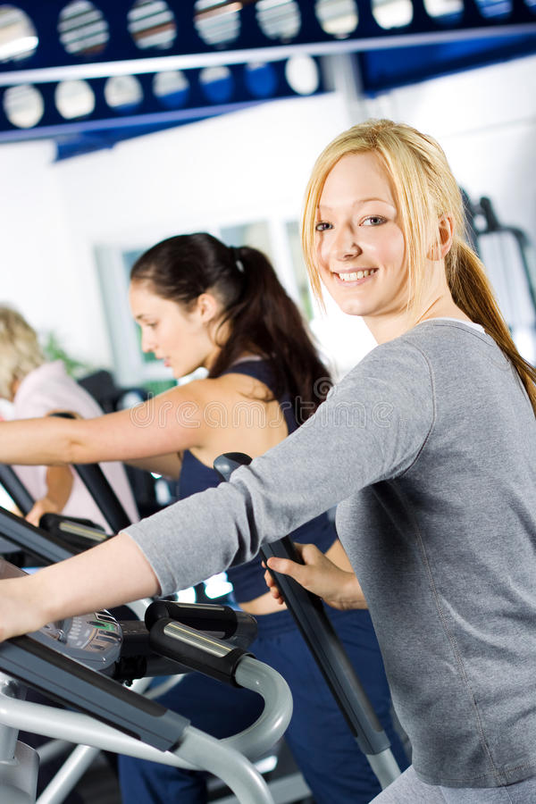 Download Girl Working Out At The Gym Stock Photo - Image: 10494864
