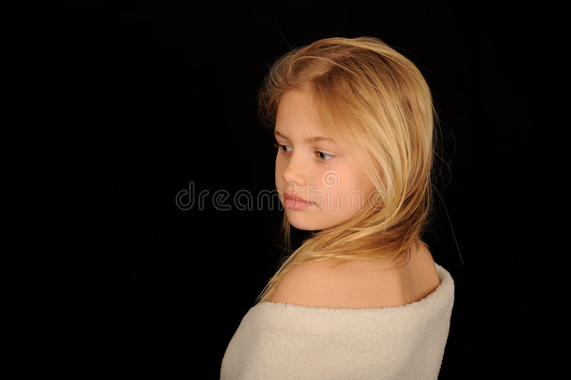 Download Girl Wrapped In Towel Stock Photos - Image: 9042033