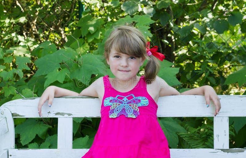Download Girl stock image. Image of pink, summer, leaf, german - 43489859