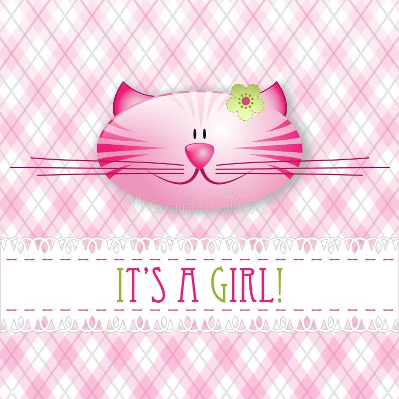 Girl1 illustration stock