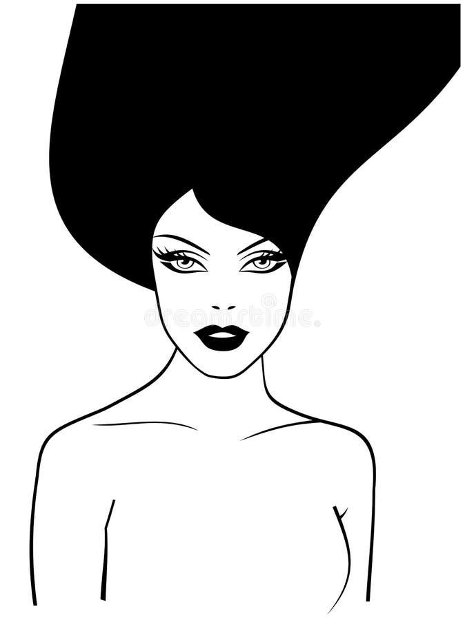 Download Girl1 stock vector. Illustration of fashion, dance, females - 4053731