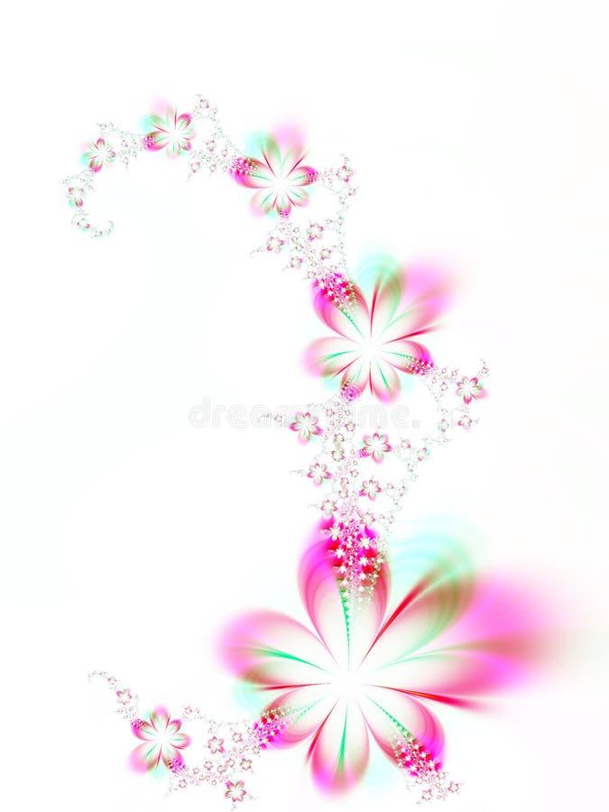 Girlande der Blumen vektor abbildung