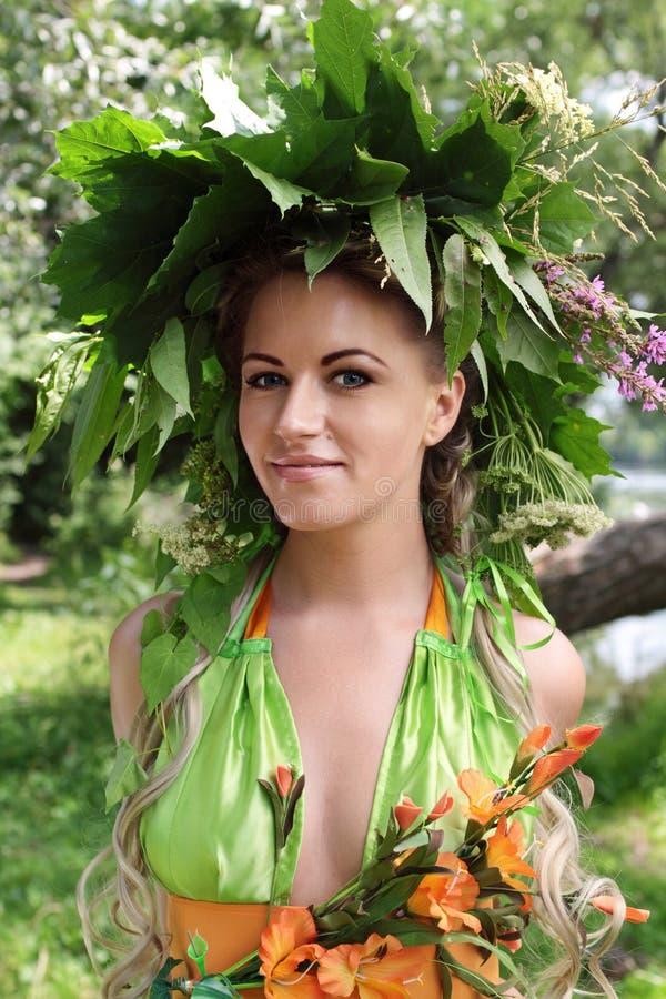 girlandflicka royaltyfri foto