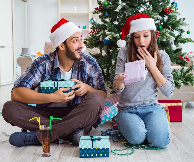 1 960 Christmas Gifts Boyfriend Photos Free Royalty Free Stock Photos From Dreamstime