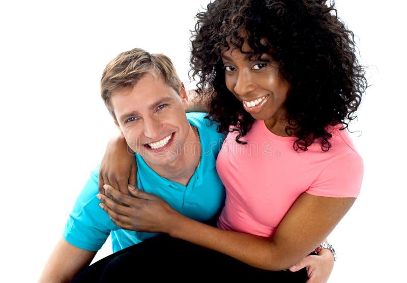 Download Girlfriend Sitting On Her Boyfriends Lap Stock Photo - Image: 25261622
