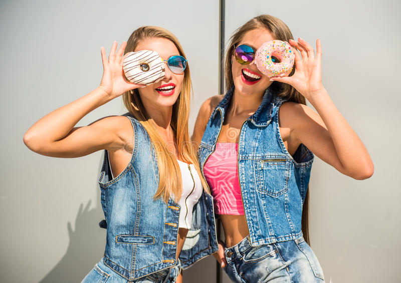 girlfriends imagem de stock royalty free