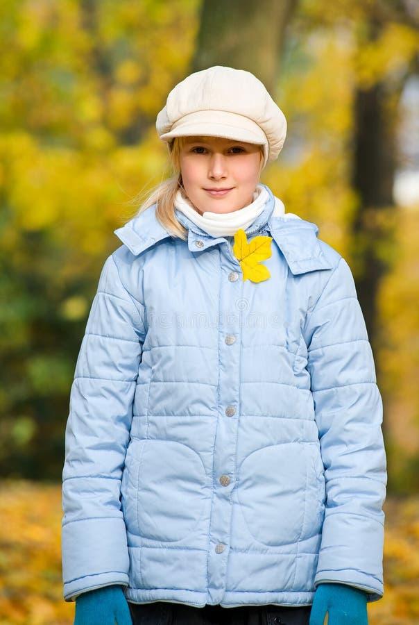Girlie et automne images libres de droits