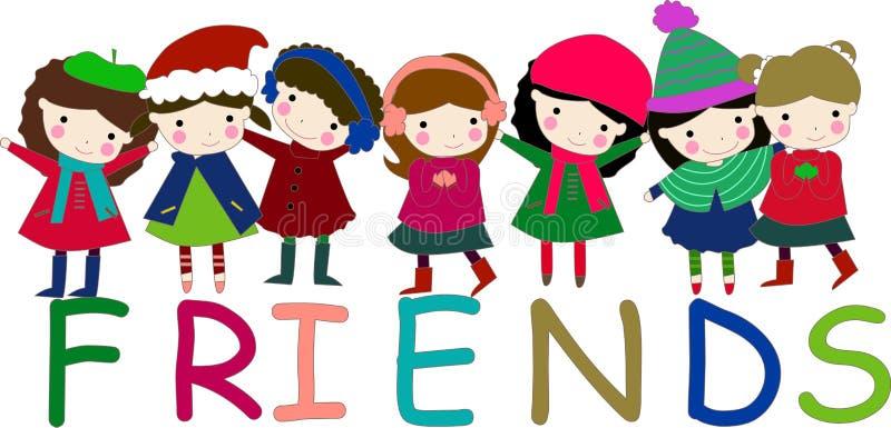 Download Girls stock vector. Illustration of elementary, girls - 11643895