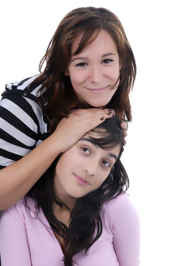Download Girls stock photo. Image of portrait, hair, school, horizontal - 1706776