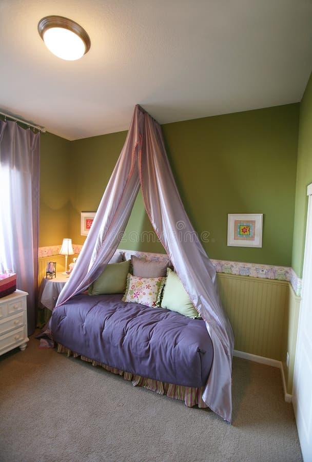 Download Girls Bedroom stock photo. Image of chamber, mattress - 2227720