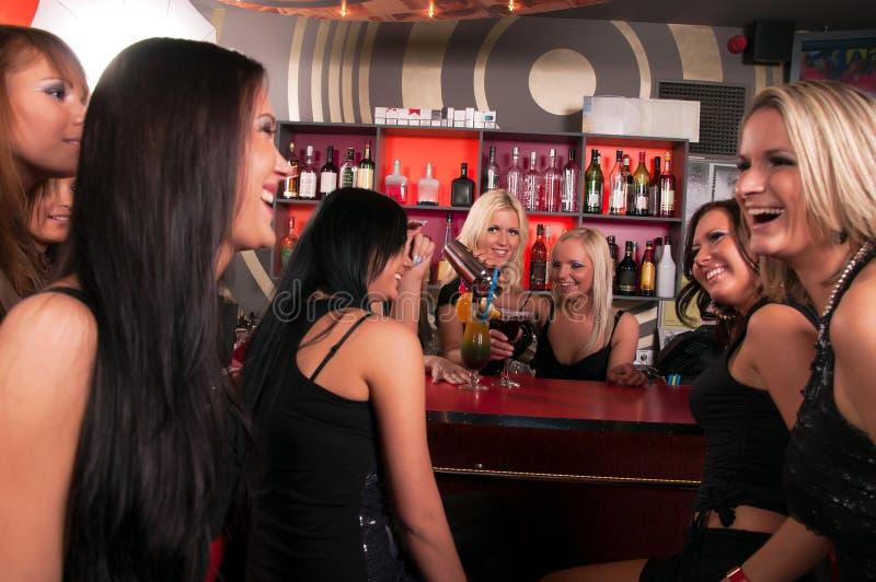 Download Girls Company Having Fun In The Night Club Stock Photo - Image: 41874815