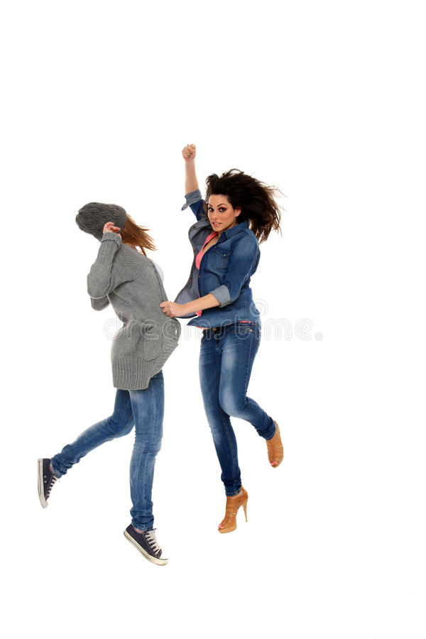 Download Girls fight stock photo. Image of jean, female, advertising - 23013752