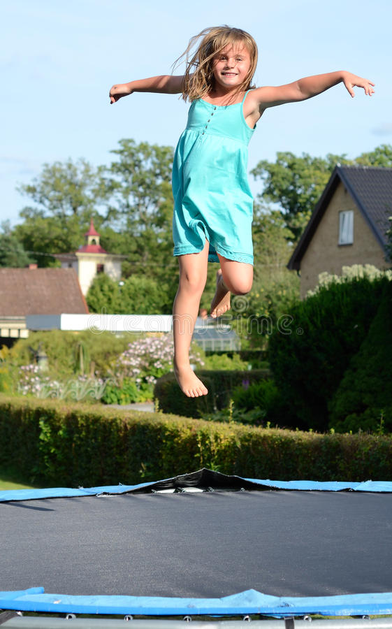 Download Girls fun outdoor stock image. Image of blue, outdoors - 26341029