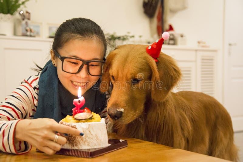 Fantastic Golden Retriever Birthday Cake Stock Photos Download 33 Royalty Funny Birthday Cards Online Alyptdamsfinfo
