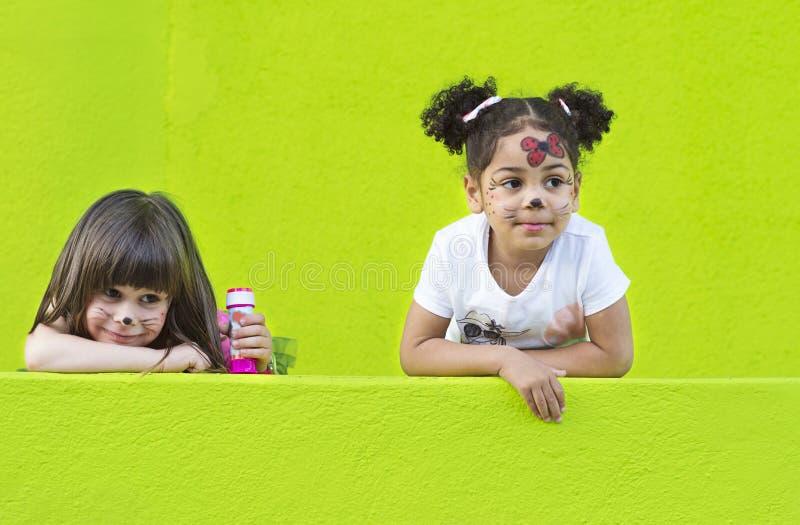 Girls having fun royalty free stock image