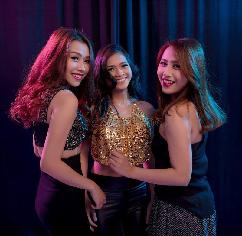 Free Girls In Night Club Stock Photo - 63156590