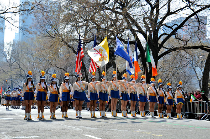 Download Girls Marching Editorial Stock Photo - Image: 23893583
