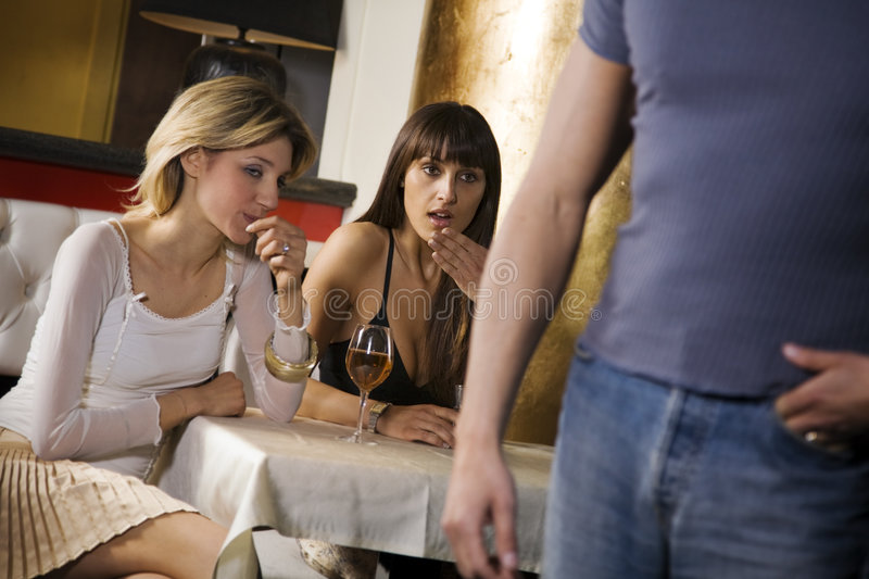 Girls night out stock images