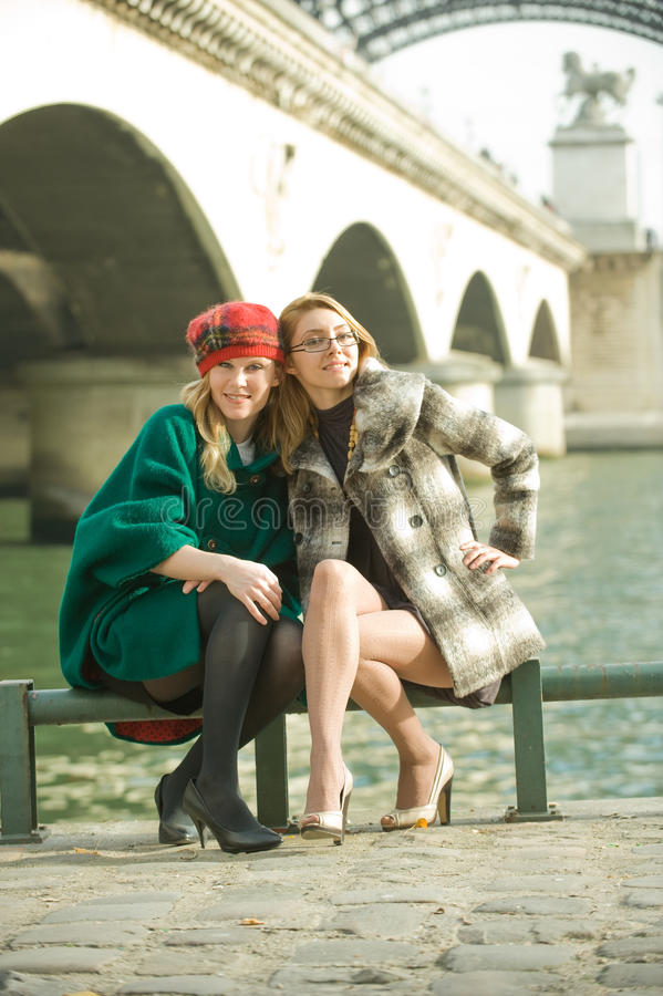 Download Girls In Paris Stock Photography - Image: 11784872