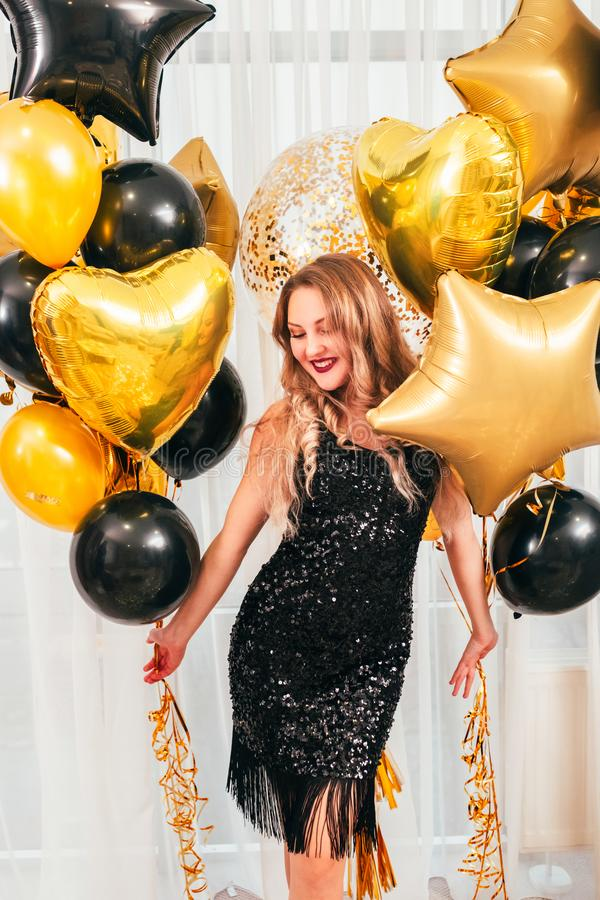 Girls party special occasion charming lady royalty free stock images