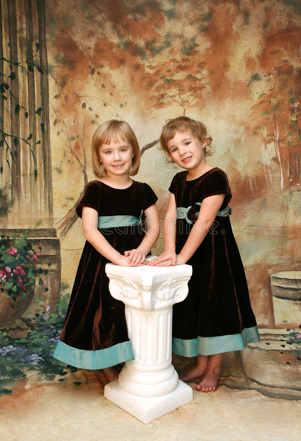 Girls  Portrait Stock Photos