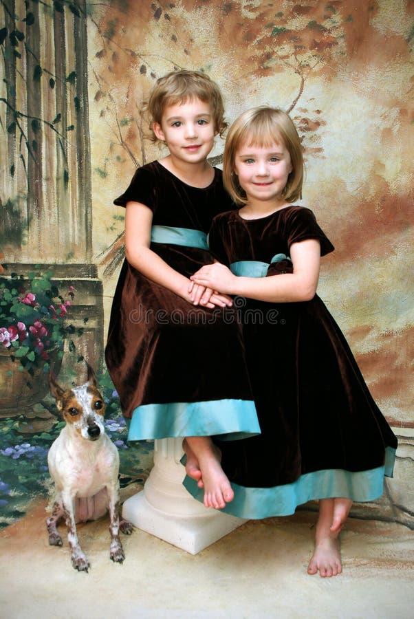 Girls' Portrait stock photos