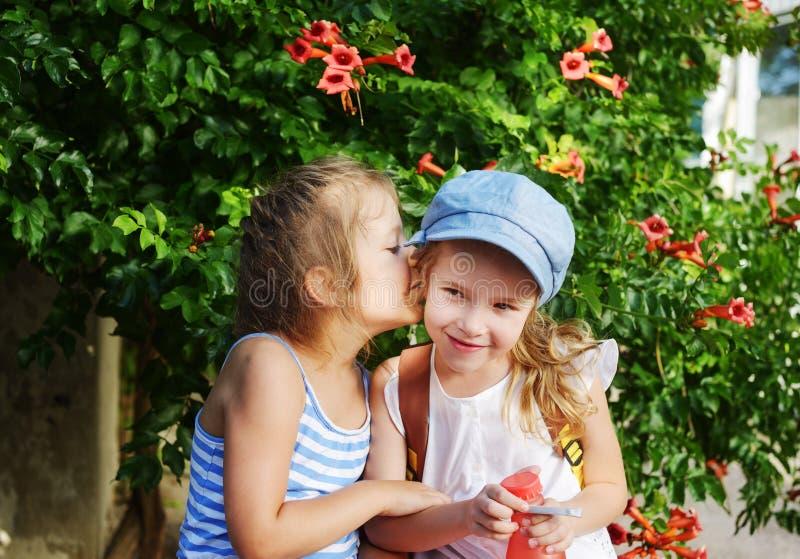 Girls secrets royalty free stock photos