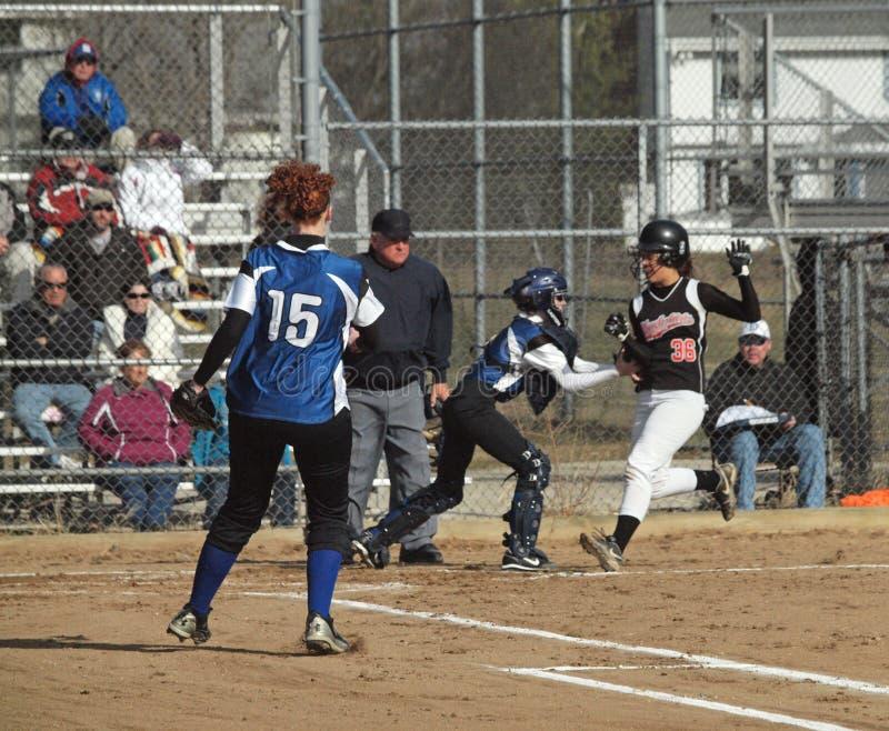 Girls Softball royalty free stock photos