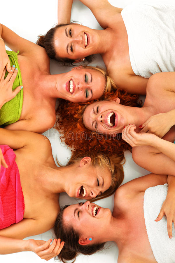 Download Girls In Spa Royalty Free Stock Photo - Image: 27732255