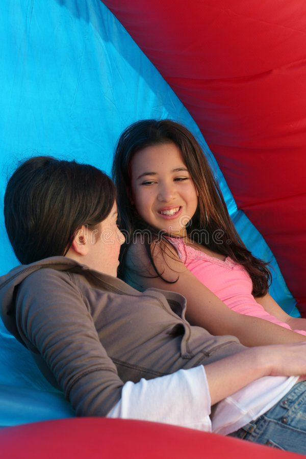 Download Girls talk stock photo. Image of play, playground, playing - 639298