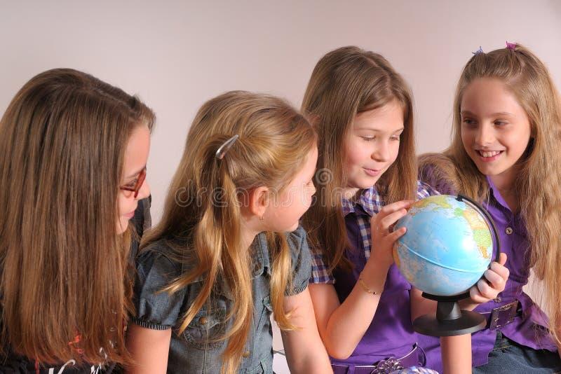 Download Girls talking stock image. Image of educational, teaching - 9412691