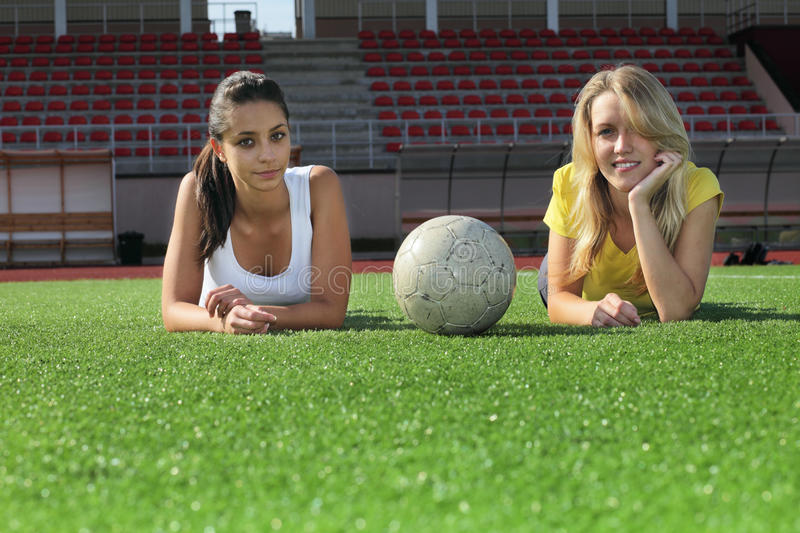 Download Girls after training stock photo. Image of women, portrait - 10970244