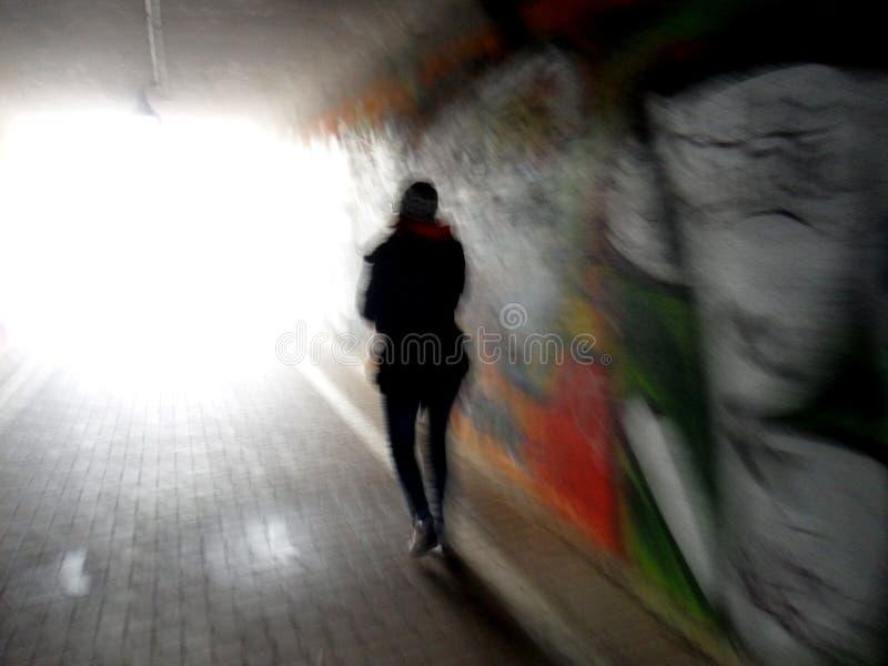 Girls walking stock image